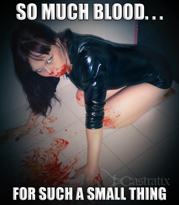 Bloody femdom Mistress Urnom