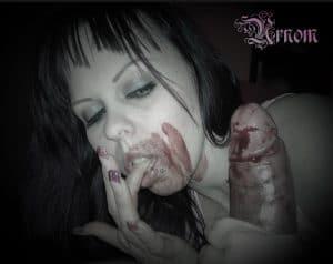 femdom blood